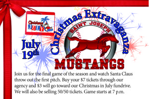 Mustangs Night reminder